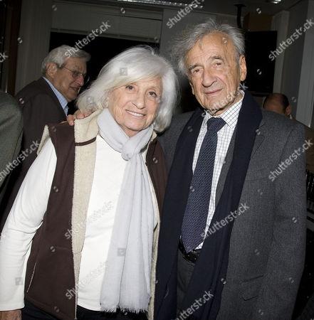 Marion Wiesel with Elie Wiesel
