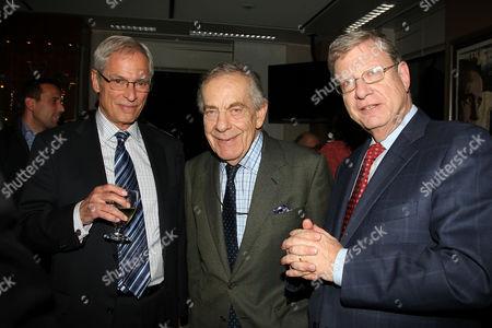 Bob Simon, Morley Safer and Jeff Greenfield