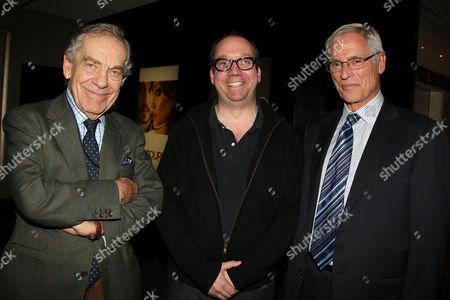Morley Safer, Paul Giamatti and Bob Simon