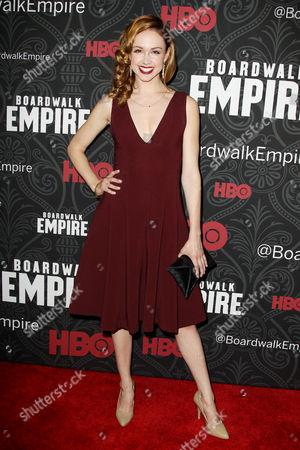 Editorial photo of 'Boardwalk Empire' Season 5 TV series premiere, New York, America - 03 Sep 2014