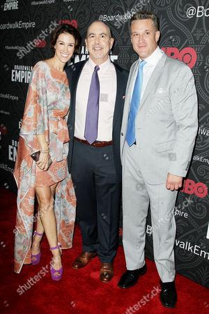 Rachel Winter, Terence Winter (Creator & Exec. Producer), Chris Caldovino
