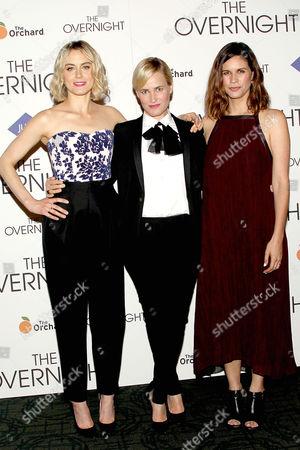Taylor Schilling, Judith Godreche, Naomi Scott