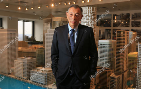 Stock Image of Sir George Iacobescu CBE (born 9 November 1945 in Bucharest) is the chairman and chief executive officer of Canary Wharf Group, the London-based owners and developers of the Canary Wharf estate in London Docklands. He is one of the most successful Romanian-born businessmen