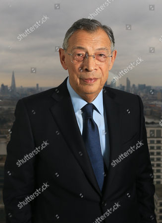 Editorial picture of Sir George Iacobescu CBE photoshoot, London, Britain - 18 Jan 2016