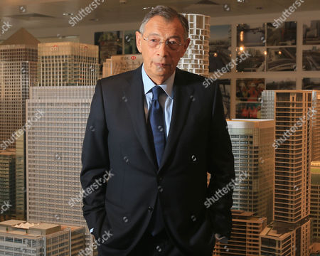 Editorial photo of Sir George Iacobescu CBE photoshoot, London, Britain - 18 Jan 2016