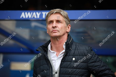 Charlton Athletic's manager Jose Riga  during the Sky Bet Championship match between QPR and Charlton Athletic played at Loftus Road, London on April 9th 2016