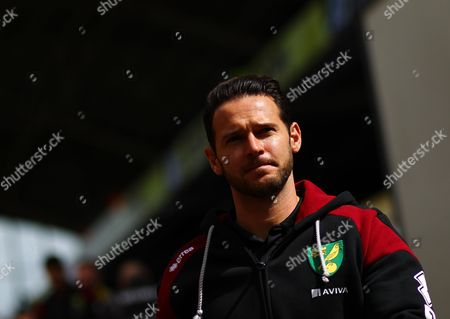 Matt Jarvis of Norwich   during the Barclays Premier League match Crystal Palace and Norwich  played at Selhurst Park on 9th April 2016 , London