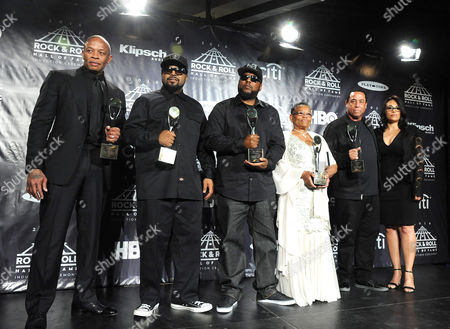 Editorial picture of 31st Annual Rock And Roll Hall of Fame, Press Room, New York, America - 08 Apr 2016