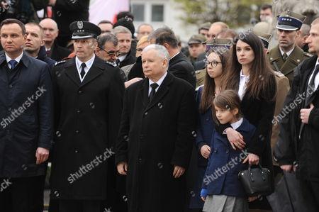 Editorial picture of Smolensk plane crash 6th anniversary, Warsaw, Poland - 10 Apr 2016