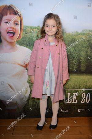Editorial picture of 'Les Malheurs de Sophie' film premiere, Paris, France - 10 Apr 2016