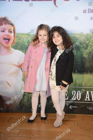 Editorial photo of 'Les Malheurs de Sophie' film premiere, Paris, France - 10 Apr 2016