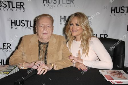 Larry Flynt and Alexis Texas