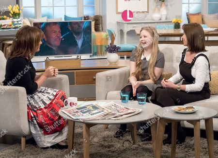 Lorraine Kelly and Beau Dermott and her mother