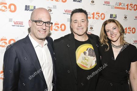 Matthew Bershadker, Ken Bell and Kristen Collins