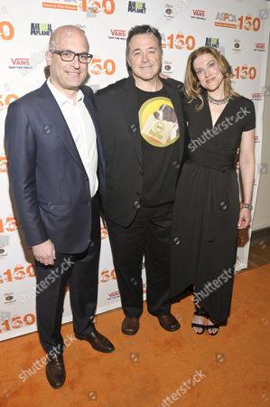 Editorial picture of 'Second Chance Dogs' film screening in honor of ASPCA's 150th Anniversary, New York America - 10 Apr 2016