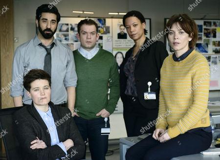 Charlie Covell as DI Alex Dier, Ray Panthaki as DI Ray Sangha, Jack Doolan as DC Mark Travis, Nina Sosanya as DCI Laura Porter and Anna Friel as Marcella