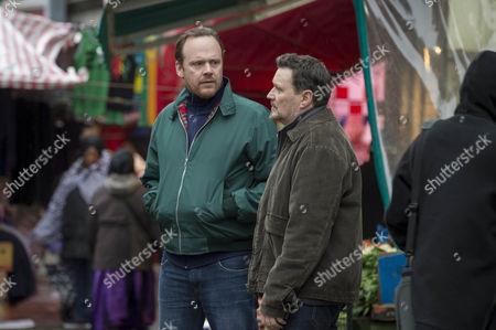 Robert Whitelock as Guy Roberts and Ian Puleston-Davies as Peter Cullen
