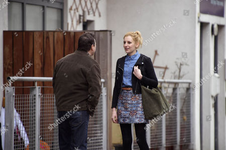 Ian Puleston Davies as Peter Cullen and Laura Carmichael as Maddy