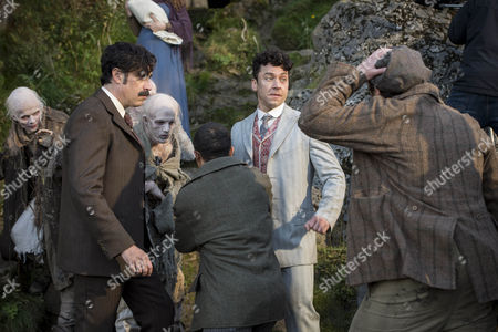 Editorial photo of 'Houdini and Doyle' TV series - 2016