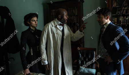 Editorial picture of 'Houdini and Doyle' TV series - 2016