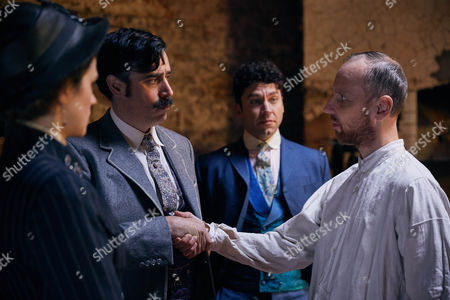 Editorial image of 'Houdini and Doyle' TV series - 2016