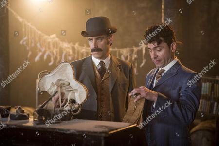 Arthur Conan Doyle, Stephen Mangan and Harry Houdini, Michael Weston