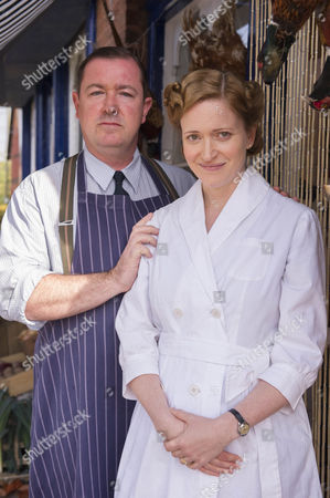 Daniel Ryan as Bryn Brindsley and Claire Price as Miriam Brindsley,
