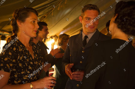 Stock Image of Ruth Gemmell as Sarah Collingborne and Mark Umbers as Nick Lucas