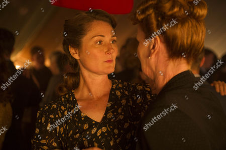 Stock Image of Ruth Gemmell as Sarah Collingborne and Samantha Bond as Frances