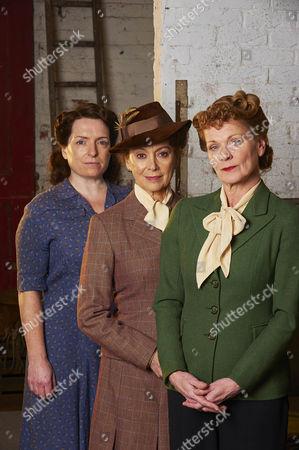 Claire Rushbrook as Pat, Francesca Annis as Joyce and Samantha Bond as Frances