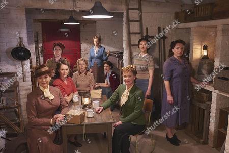Francesca Annis as Joyce, Clare Calbraith as Steph, Ruth Gemmell as Sarah, Fenella Woolgar as Alison, Claire Price as Miriam, Leanne Best as Teresa, Samantha Bond as Frances, Frances Grey as Erica and Claire Rushbrook as Pat