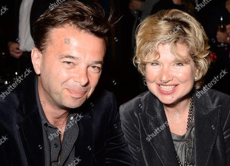 Edward Hall and Issy Van Randwyck