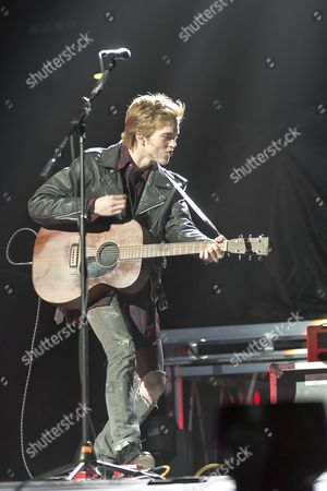 Editorial image of Jessarae in concert at First Direct Arena, Leeds, Britain - 11 Apr 2016