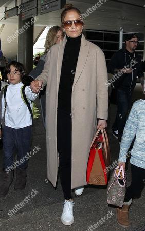 Jennifer Lopez with son Max Anthony