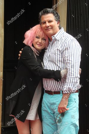 Editorial image of Cyndi Lauper and Harvey Fierstein honored with a star on the Hollywood Walk Of Fame, Los Angeles, America - 11 Apr 2016