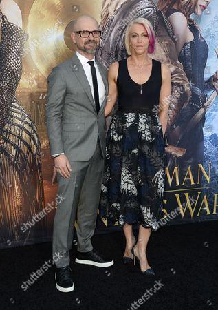 Cedric Nicolas-Troyan and Sue Troyan