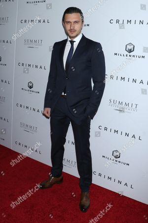 Editorial picture of 'Criminal' film premiere, New York, America - 11 Apr 2016