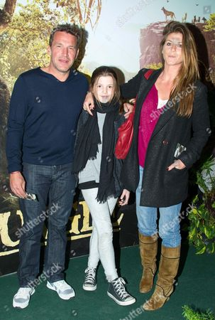 Benjamin Castaldi and family