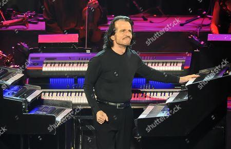 Editorial photo of Yanni in concert, Majestic Theatre, San Antonio, Texas, America - 24 Mar 2016