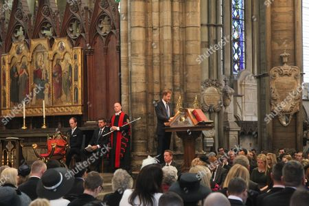 Prince Harry reads from Revelations and Frank Gardner, BBC Security Correspondent giving a Reflection.