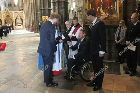 Editorial photo of Service of Commemoration for victims of terrorist attacks in Tunisia, Westminster Abbey, London, Britain - 12 Apr 2016