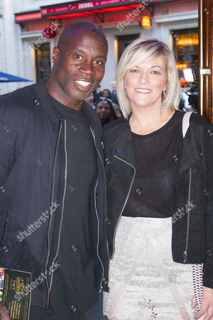 Martin Offiah and Virginia Shaw
