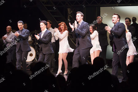 Editorial image of 'Jersey Boys' musical 8th anniversary gala, London, Britain - 12 Apr 2016