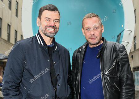 Scandinavia art duo Michael Elmgreen and Ingar Dragset.