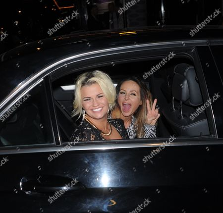 Kerry Katona and Rosanna Jasmin