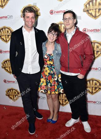 Nicholas Stoller, Katie Crown and Andy Sandberg