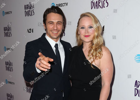 James Franco and writer/director Pamela Romanowsky