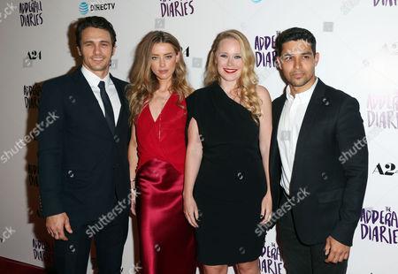 James Franco, Amber Heard, writer/director Pamela Romanowsky and Wilmer Valderrama
