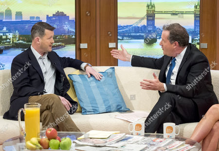 Diggory Hadoke and Piers Morgan
