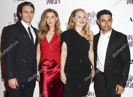 Amber Heard, James Franco, Pamela Romanowsky, Wilmer Valderrama
